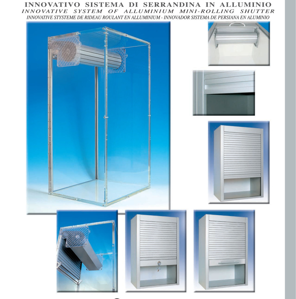 Mobili a serrandina beta nuova idea design for Idea casa mobili